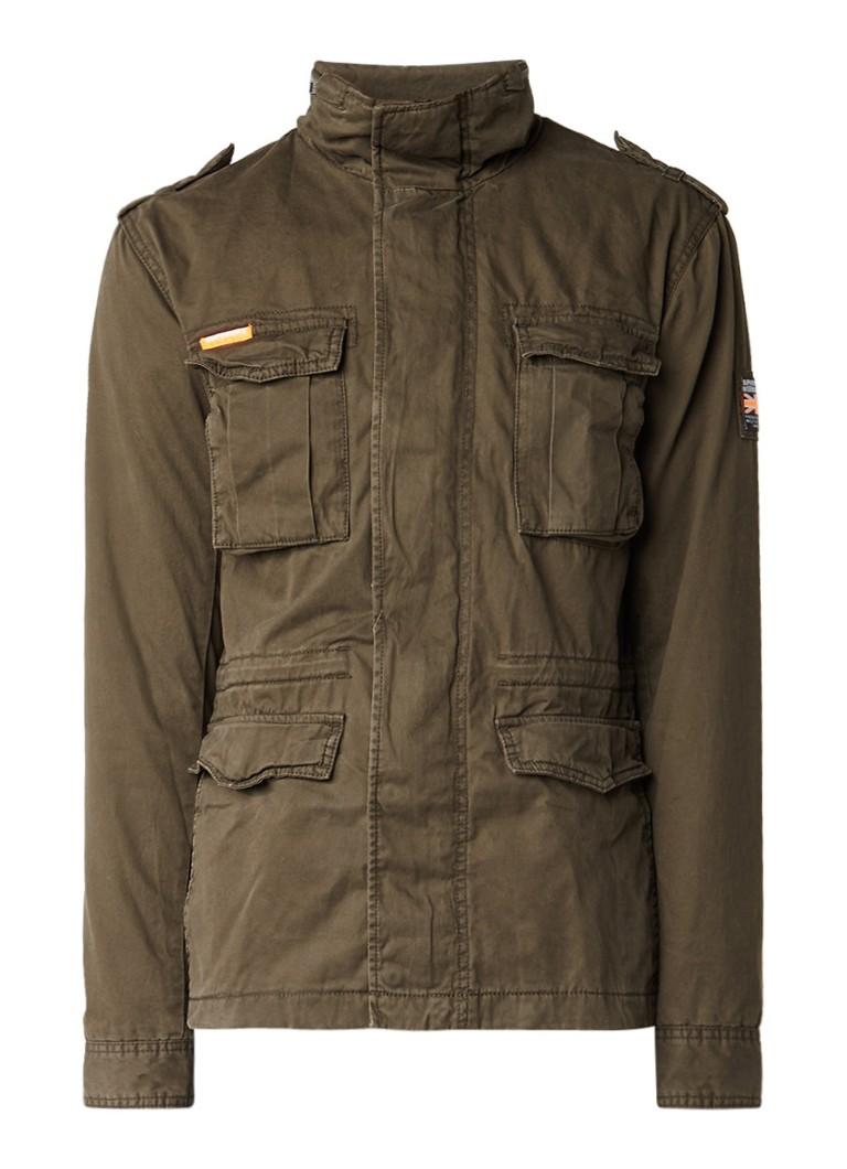 Superdry Field jacket met vintage look