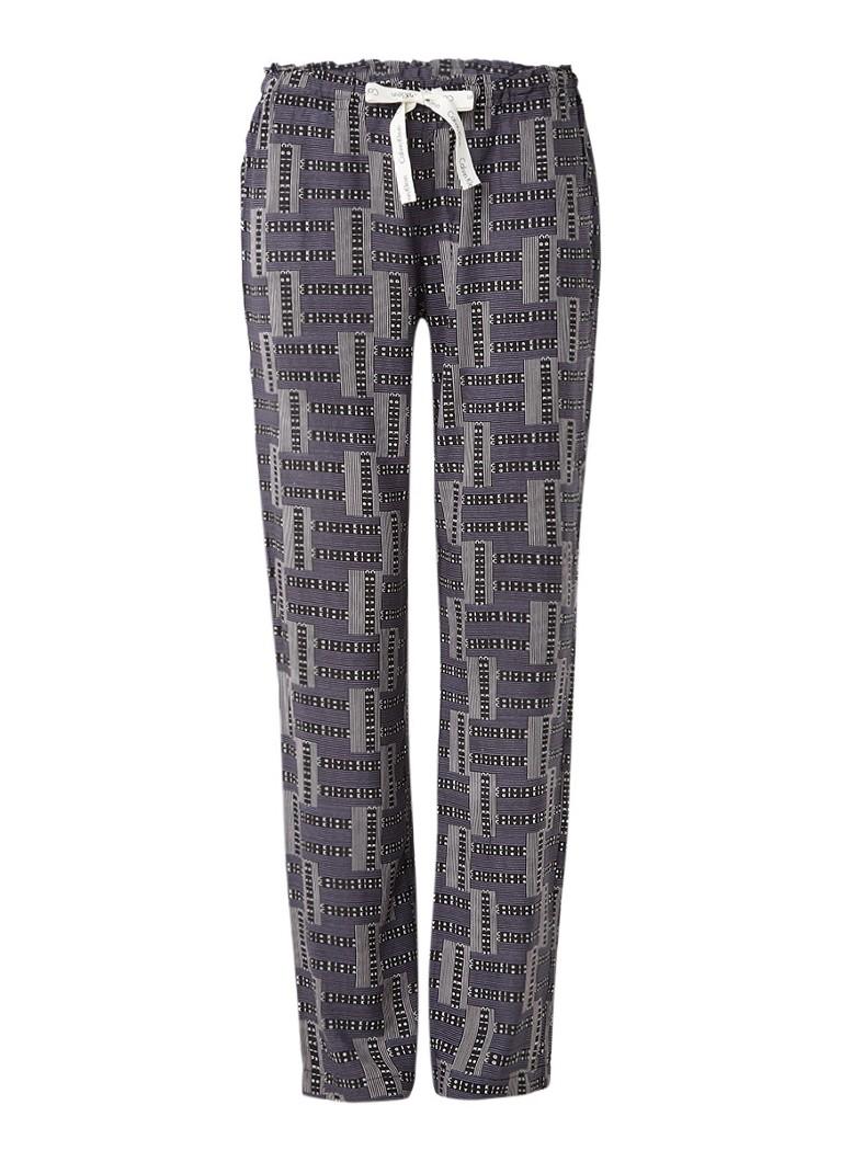 Calvin Klein Pyjamabroek met grafische logoprint