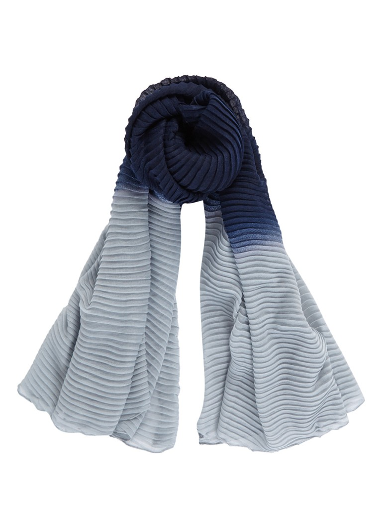 Phase Eight Sjaal met kleurverloop 200 x 100 cm wit