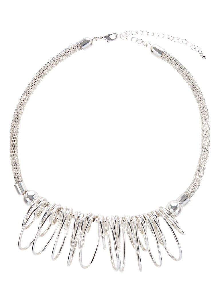 Phase Eight Ketting Blanche met hanger wit
