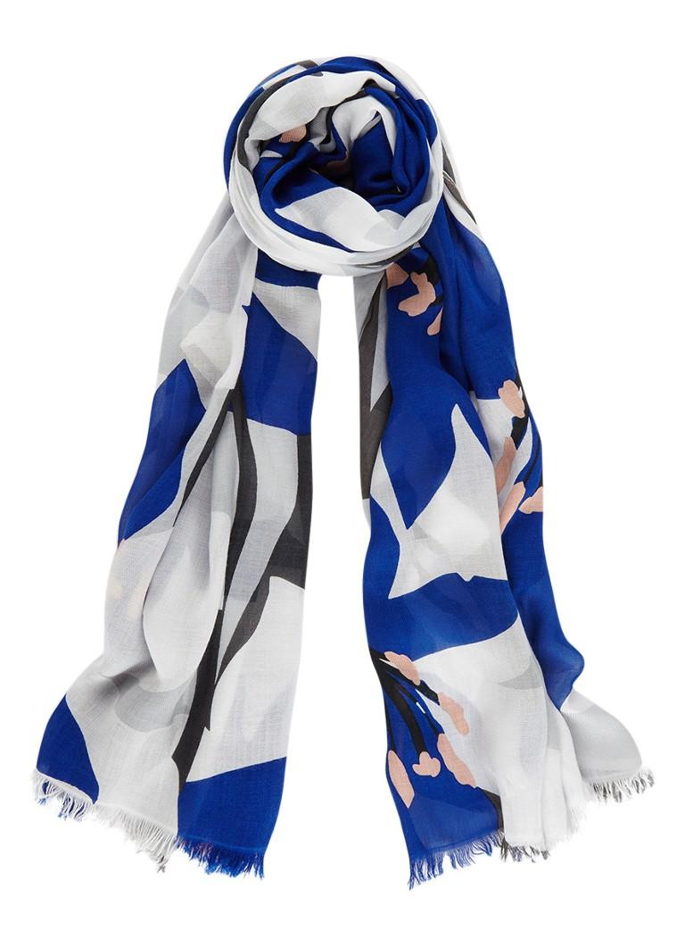 Phase Eight Dorothy sjaal met dessin 180 x 70 cm