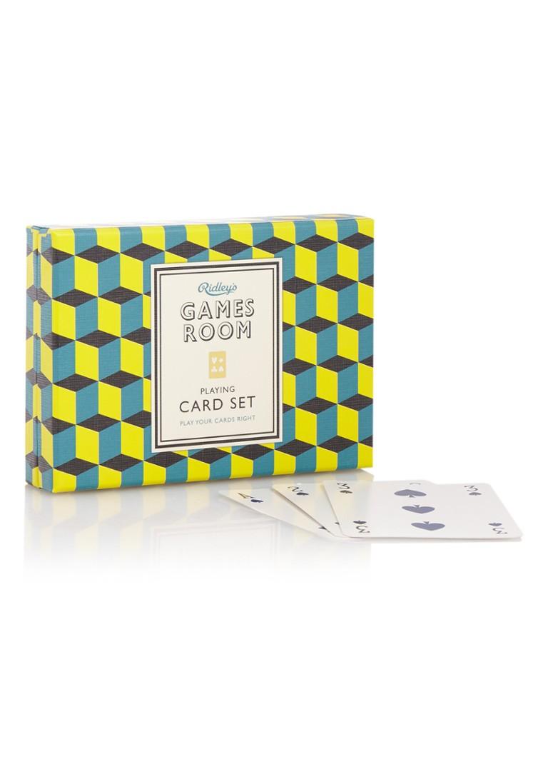 Ridley's Games Room speelkaarten in giftbox