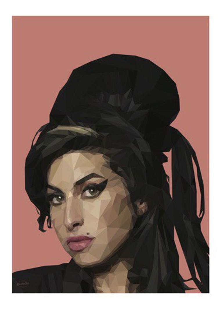 RebellenClub Amy Winehouse poster 50 x 70 cm