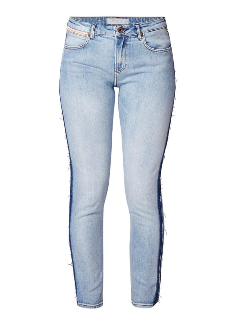 Scotch and Soda Petit Ami high rise boyfriend jeans met gerafelde afwerking