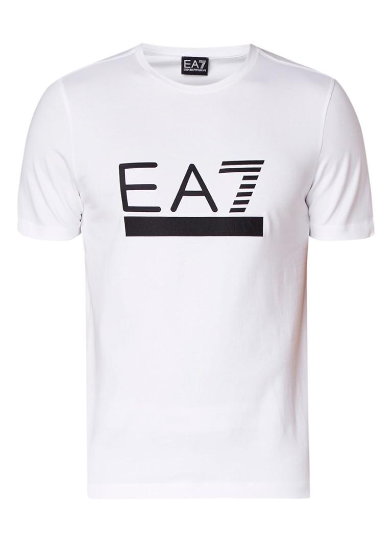 Armani Train T-shirt met tekstapplicatie
