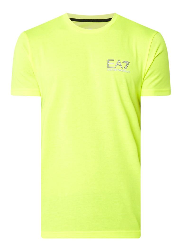 Armani Natural Ventus trainingsshirt met reflectiedetails