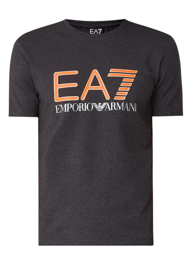Armani Train Logo T-shirt met logoprint