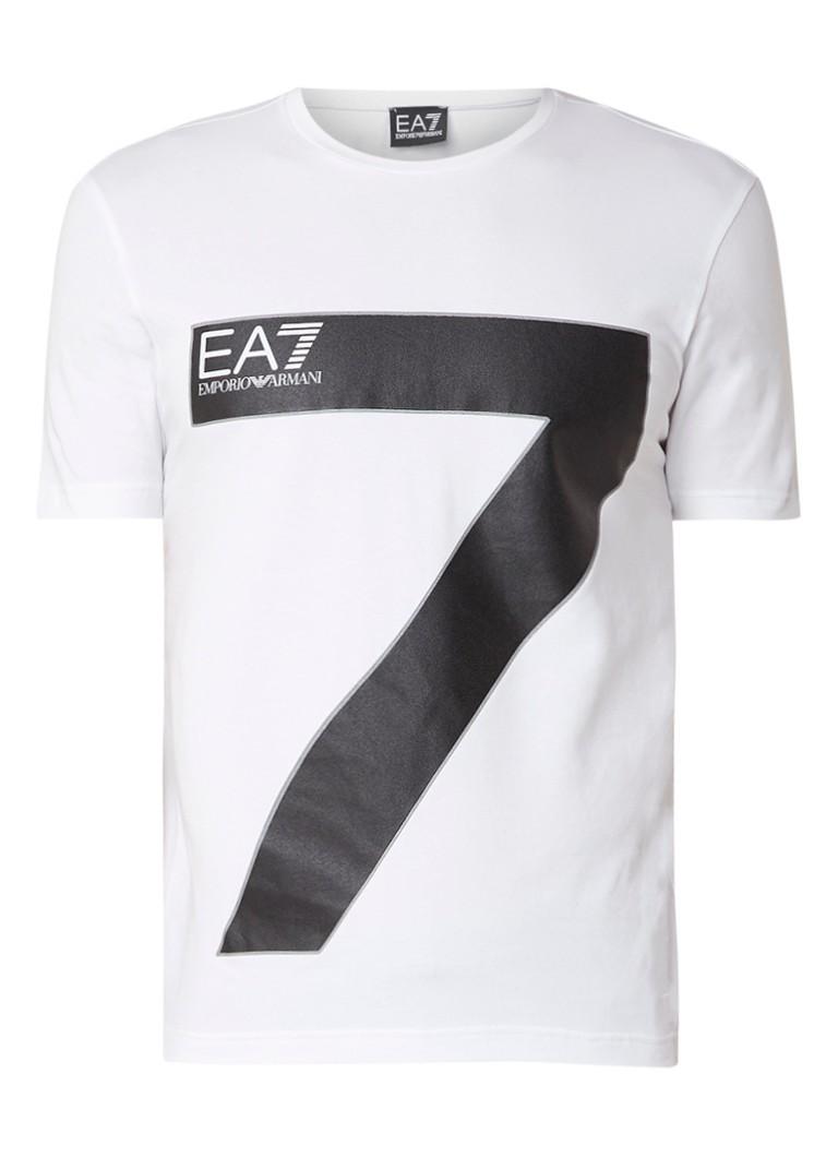 Armani T-shirt met logoprint