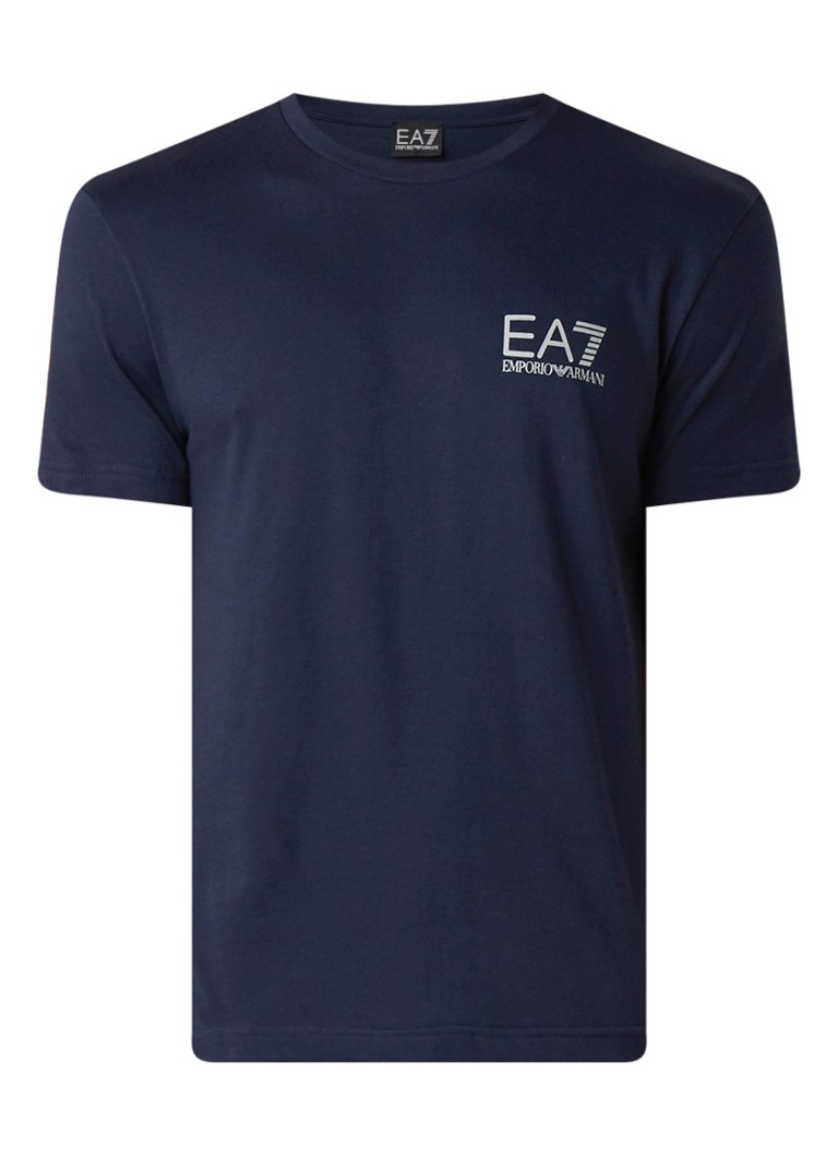Armani T-shirt met logoprint op de rug