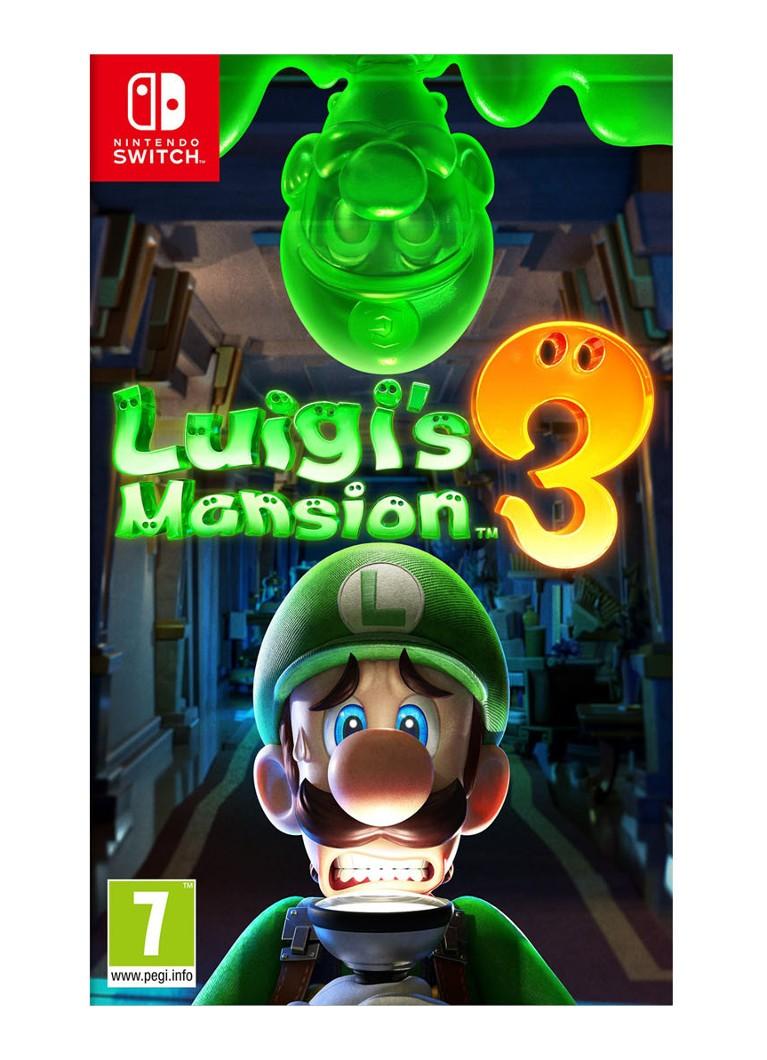 Luigis Mansion 3 game Nintendo Switch