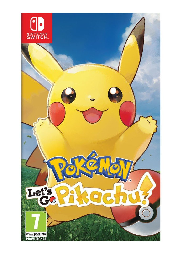 Pokémon Lets Go Pikachu game Nintendo Switch
