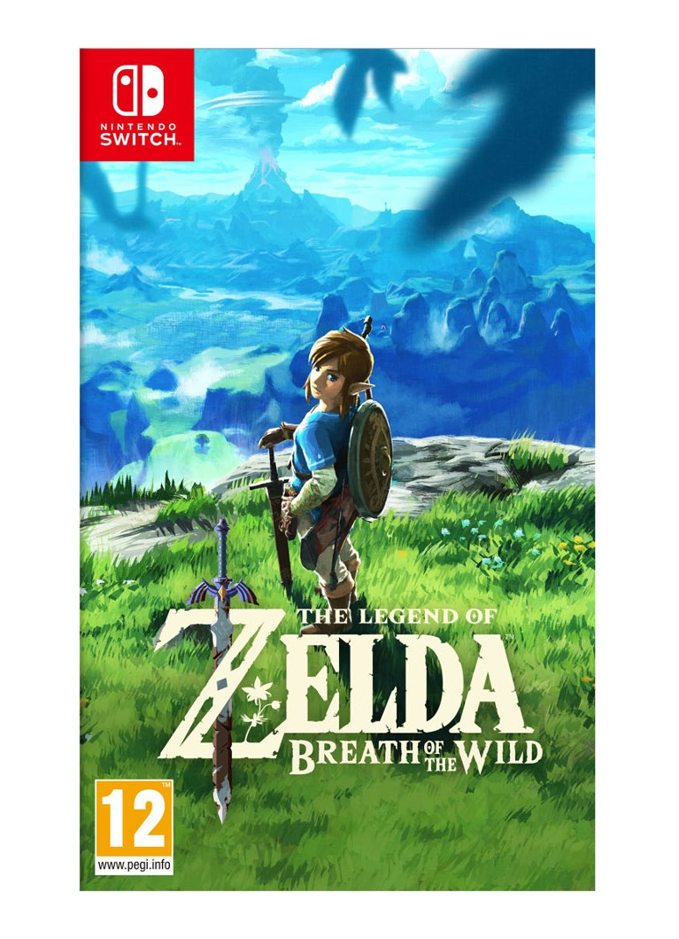 The Legend of Zelda Breath of the Wild game Nintendo Switch