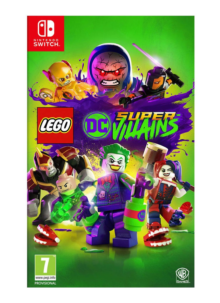 Warner Bros LEGO DC Super-Villains Game - Nintendo Switch