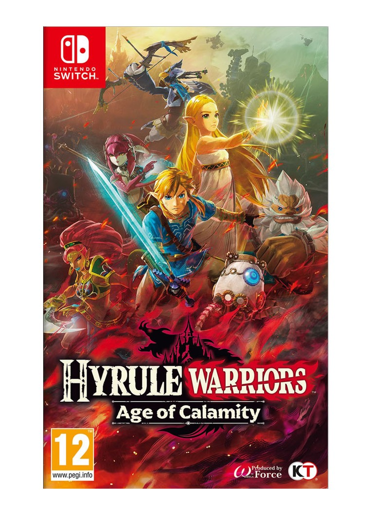 Hyrule Warriors Age of Calamity game Nintendo Switch