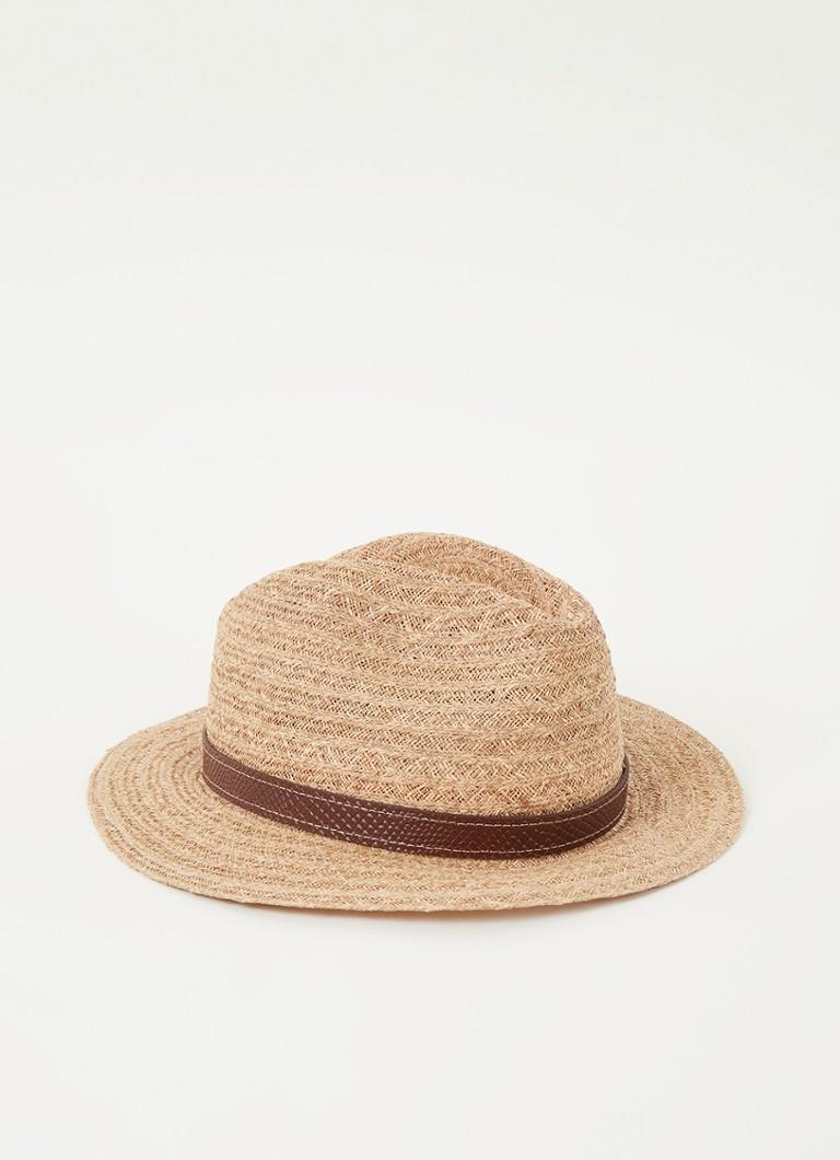 Stetson Barnell Traveller hoed van raffia