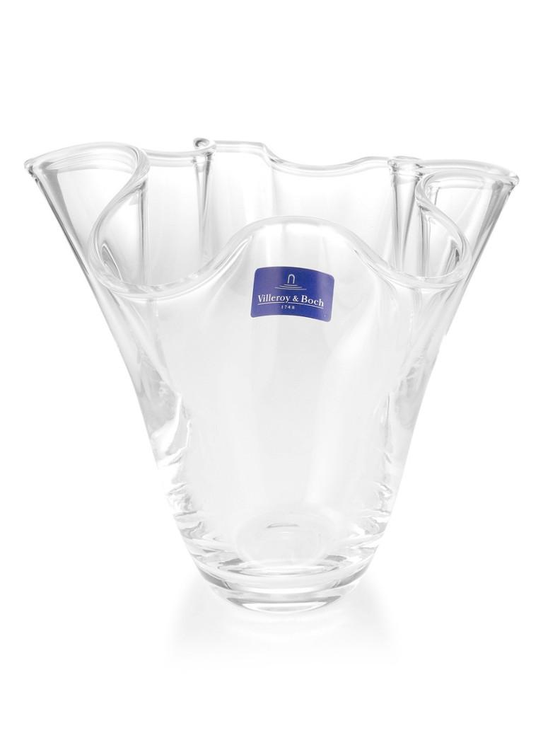 Villeroy & Boch Signature glazen vaas 18 cm