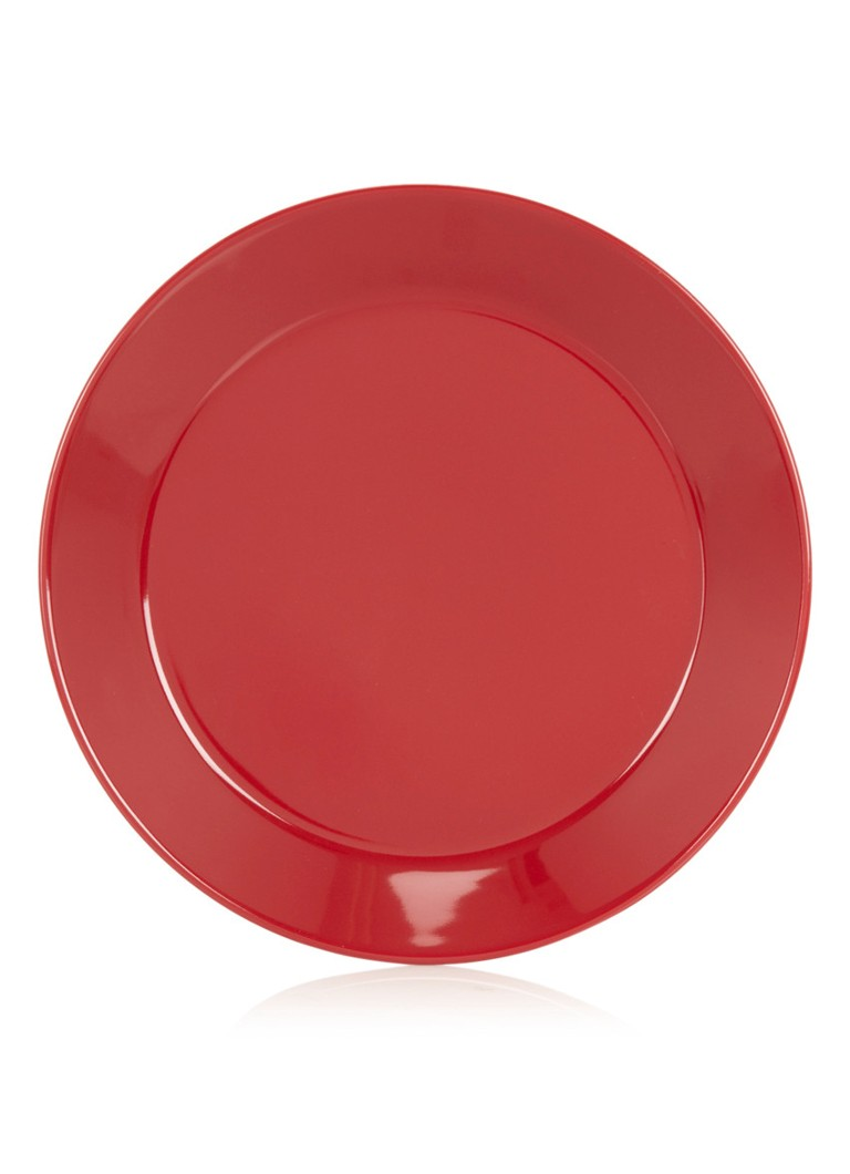 iittala Teema rood plat bord 21cm
