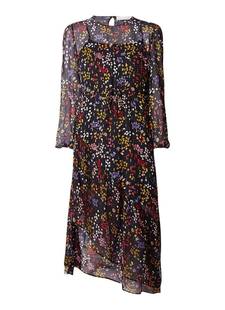See By Chloé midi-jurk met bloemendessin