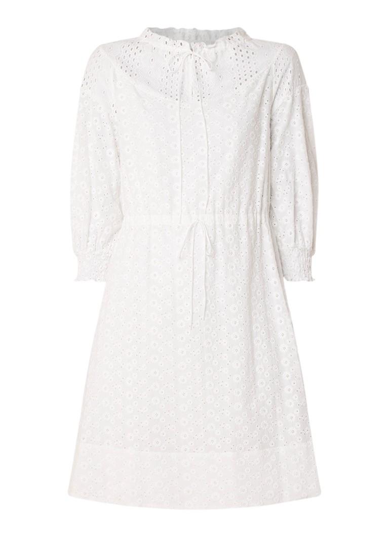 See By Chloé A-lijn jurk van broderie wit