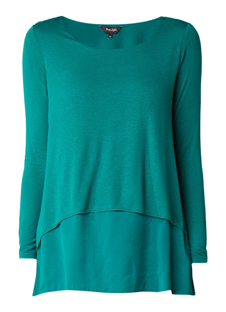 Phase Eight Ciera dubbellaagse top wit