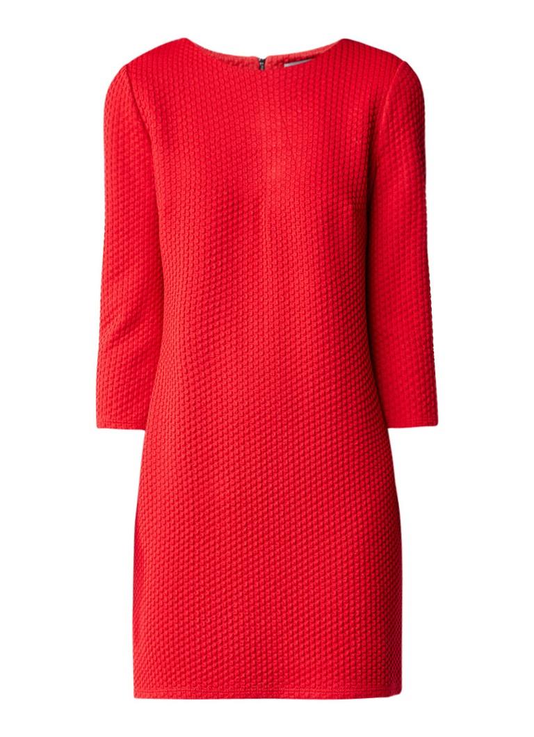 Phase Eight Tilly trui-jurk met ingebreide structuur rood