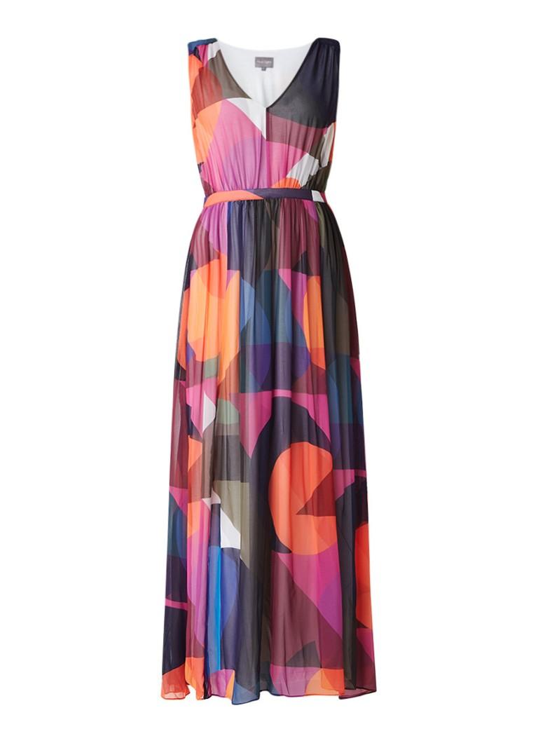 Phase Eight Phoenix maxi-jurk met kleurrijk dessin multicolor