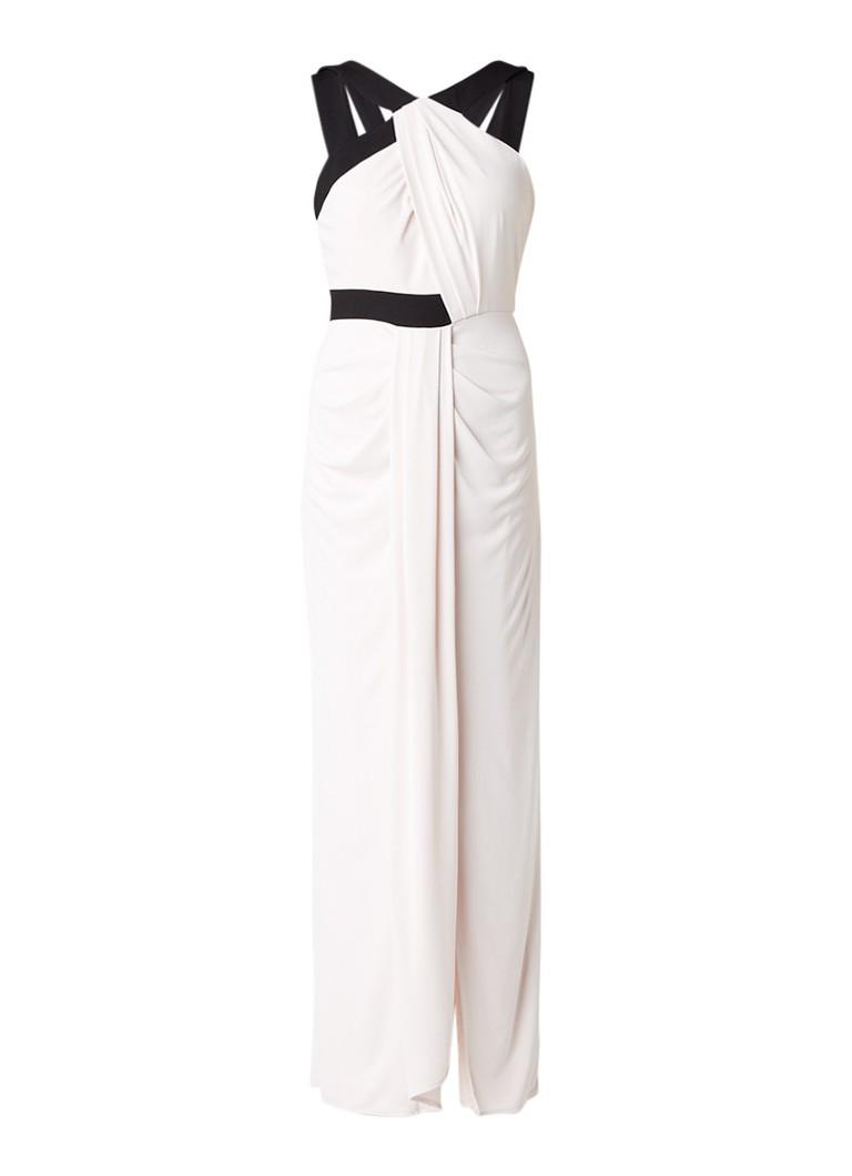 Phase Eight Felicity gedrapeerde maxi-jurk lichtroze