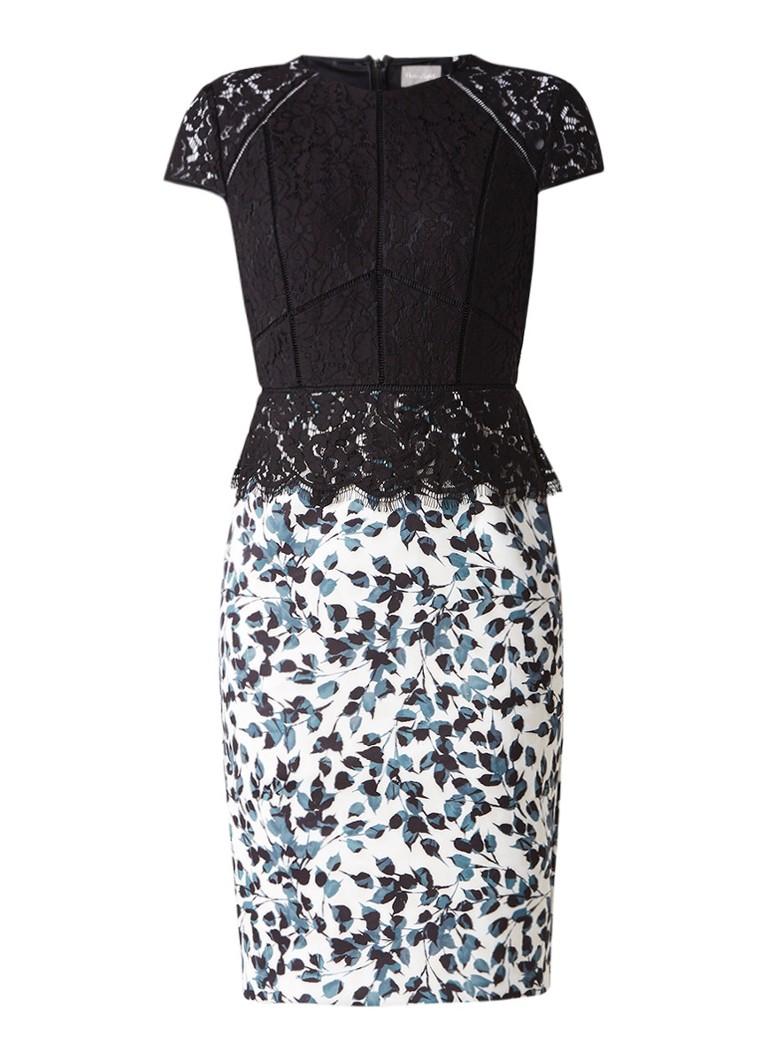 Phase Eight Fantasia jurk met bovenzijde van kant zwart