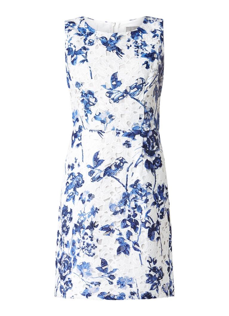 Phase Eight Lola A-lijn jurk van kant donkerblauw