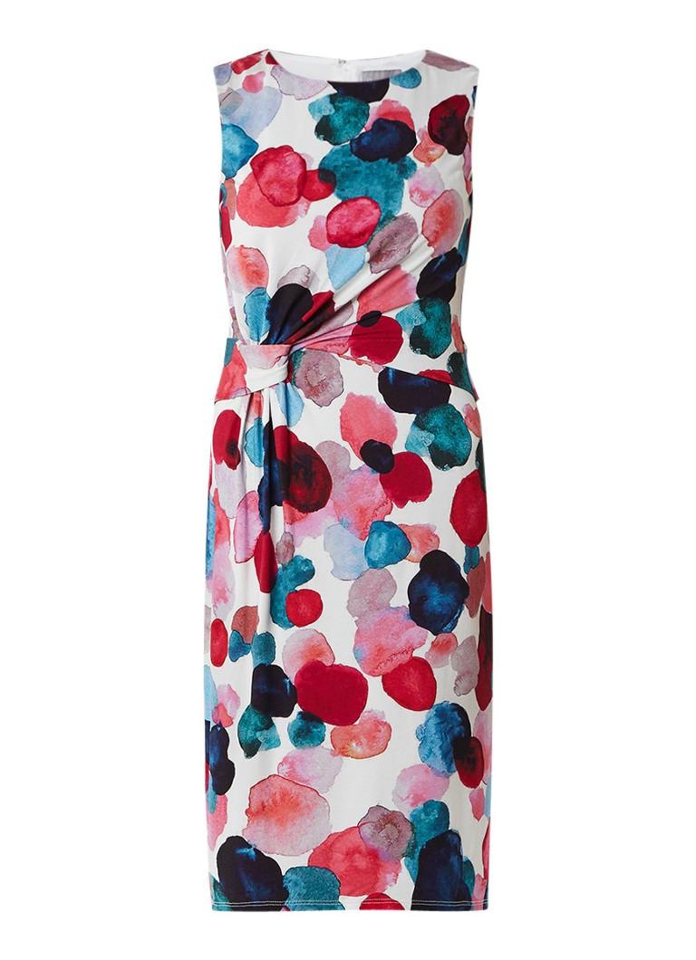 Phase Eight Artists Pallet overslag jurk van stretchjersey multicolor