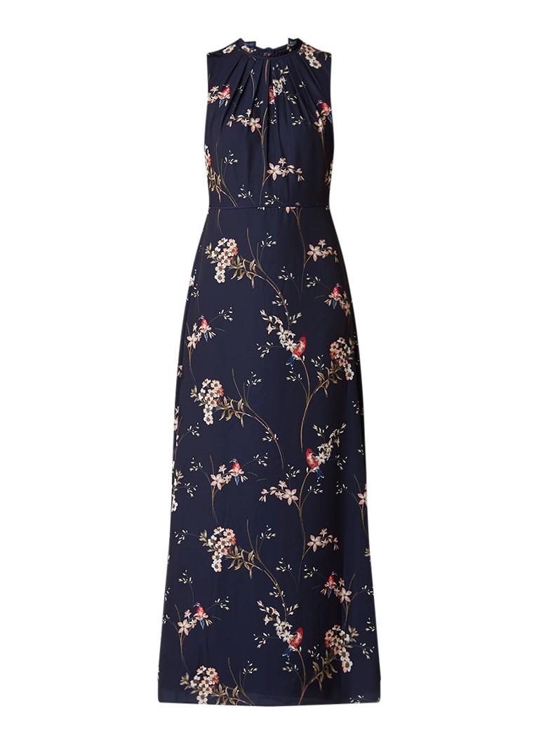 Phase Eight Gaynor maxi-jurk met gebloemd dessin donkerblauw