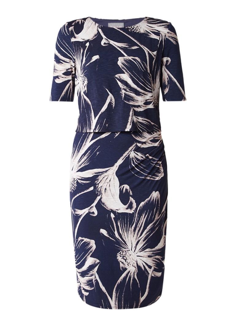 Phase Eight Daisy midi-jurk met overlay en dessin