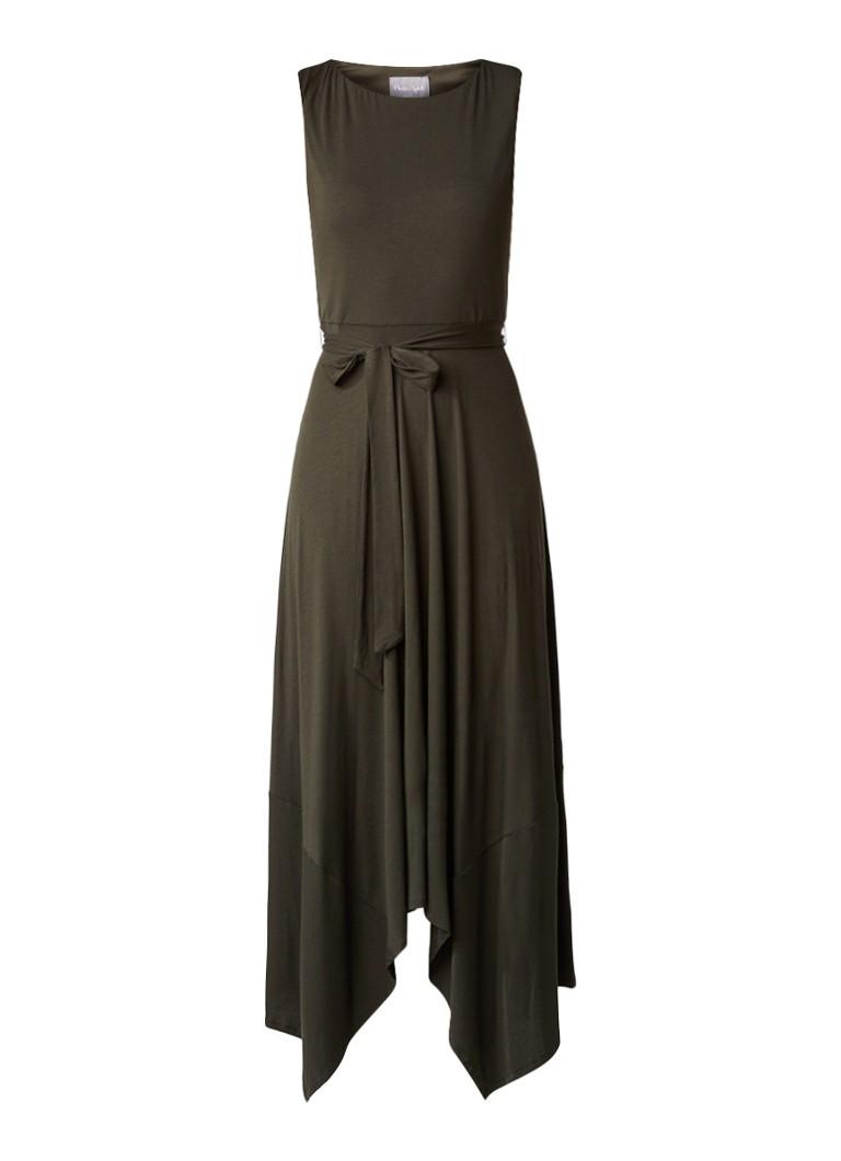 Phase Eight Margot maxi-jurk van jersey donkergroen
