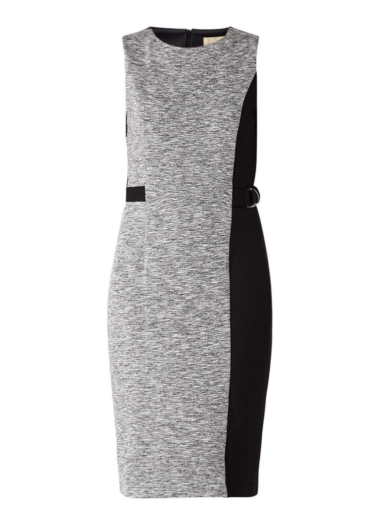 Phase Eight Charlotte midi-jurk met ceintuur grijsmele