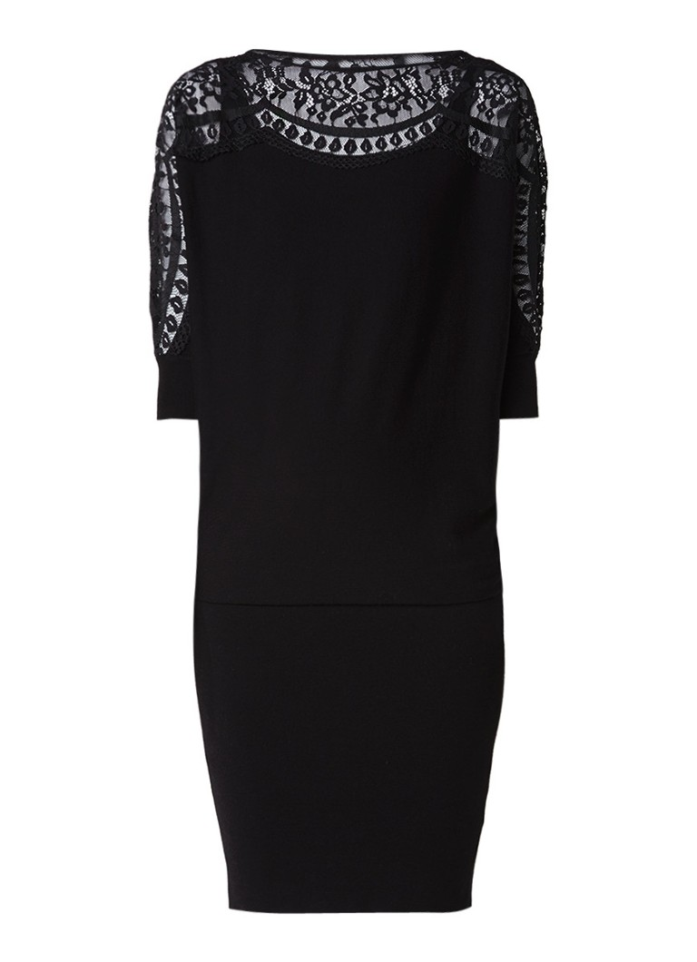 Phase Eight Becca jurk met kant zwart
