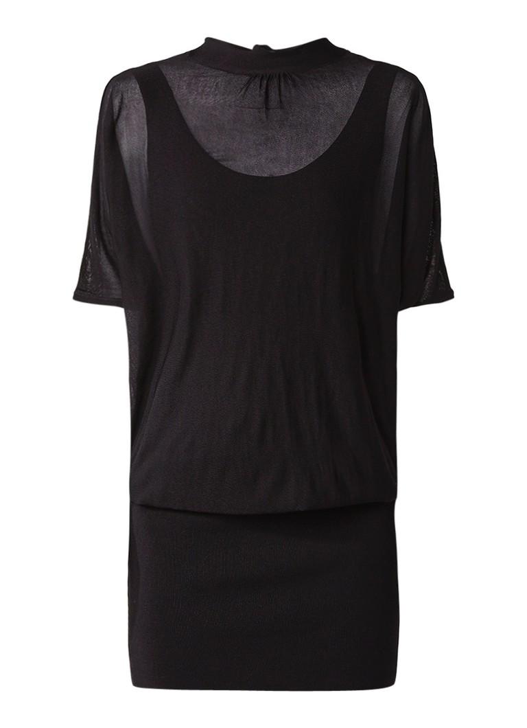 Phase Eight Becca jurk met strik aan achterzijde zwart