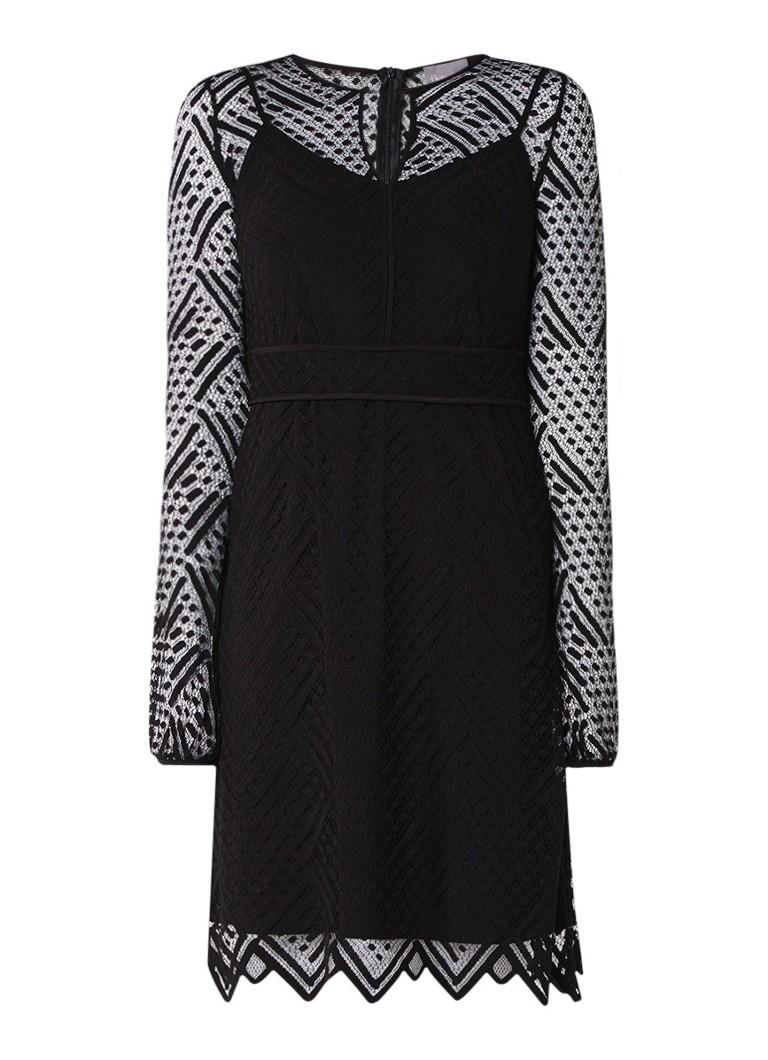 Phase Eight Lorna jurk van kant zwart