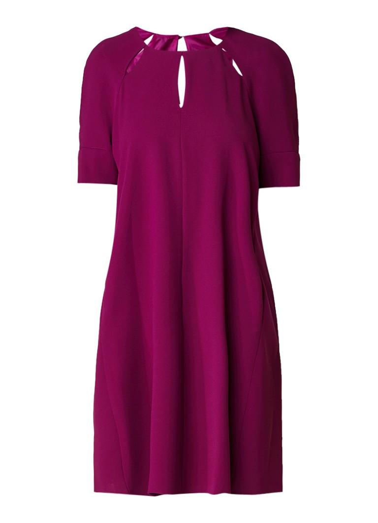 Phase Eight Zoe A-lijn jurk met steekzakken paars