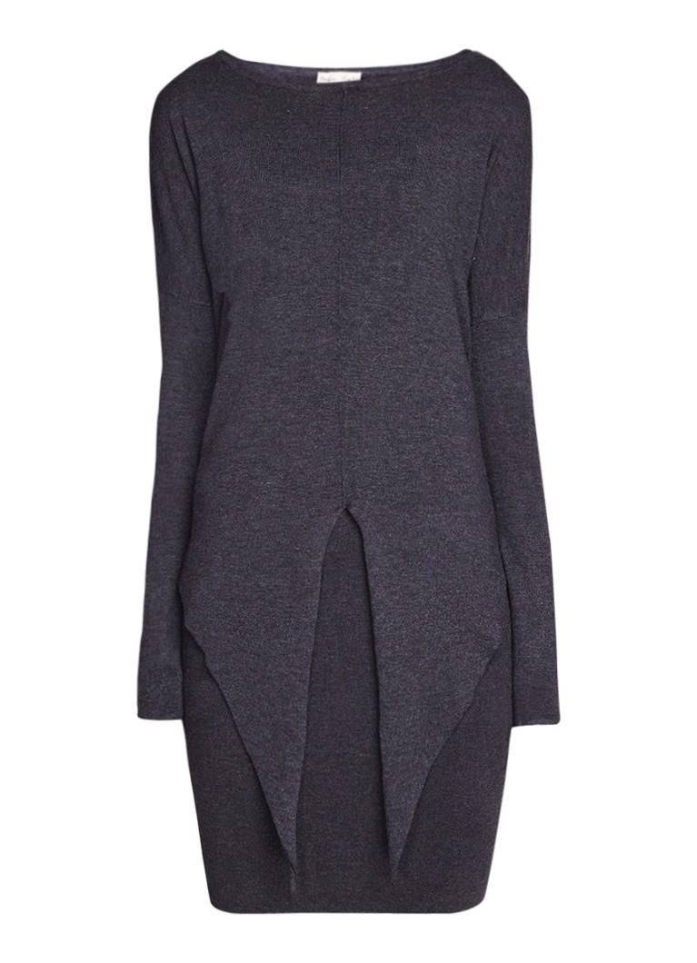 Phase Eight Jolanda tweedelige jurk met knoopdetail donkergrijs