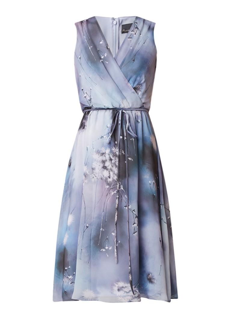 Phase Eight Dandilion A-lijn jurk van chiffon met overslag lila