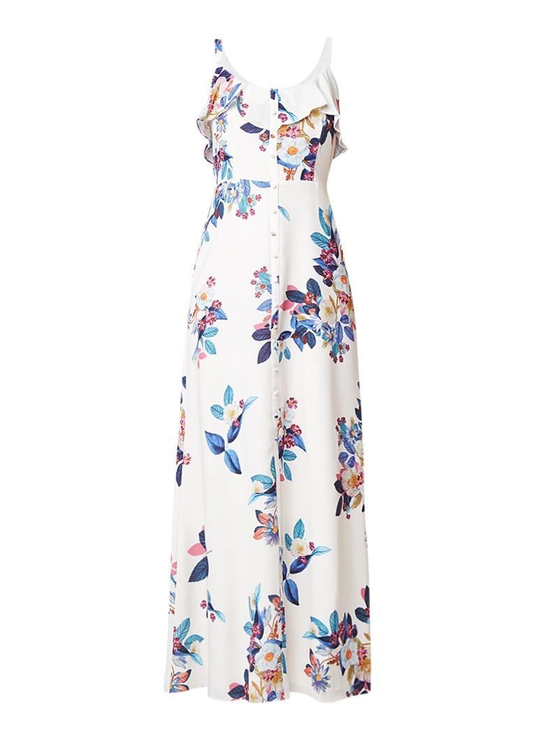 Phase Eight Cloella maxi-jurk met bloemendessin creme