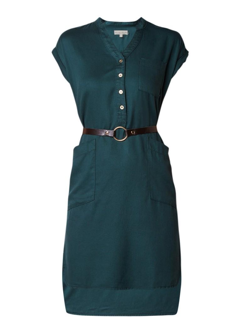 Phase Eight Yasmin blousejurk met afneembaar ceintuur groen