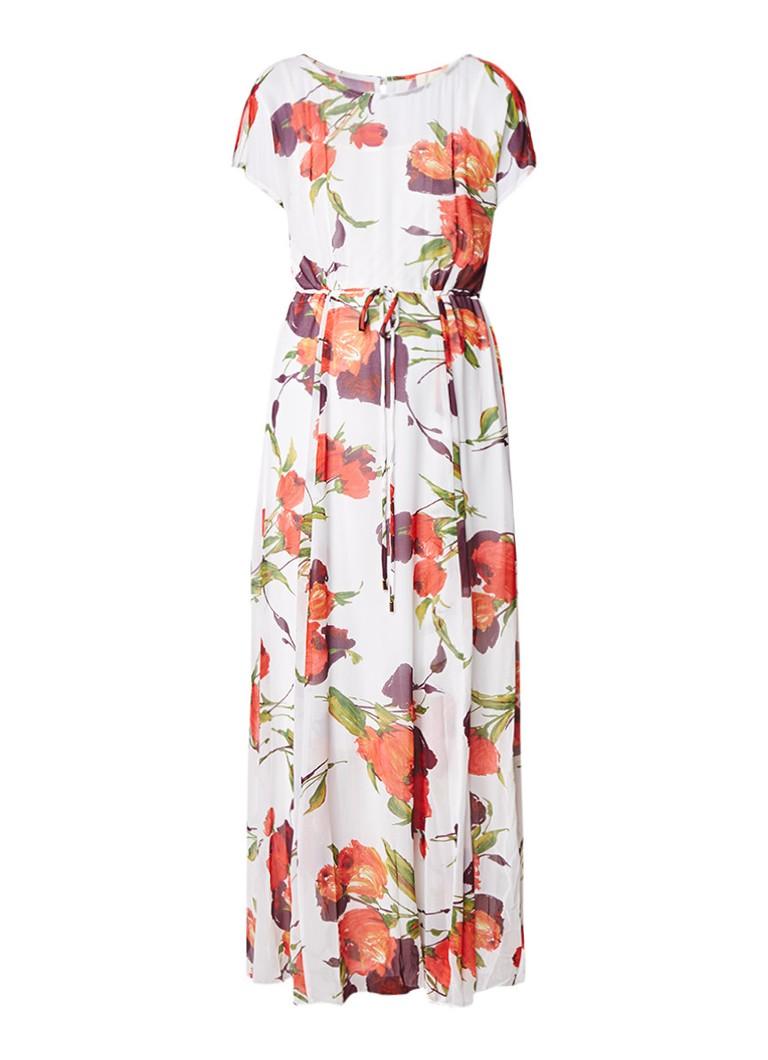 Phase Eight Candelia maxi-jurk met bloemendessin wit