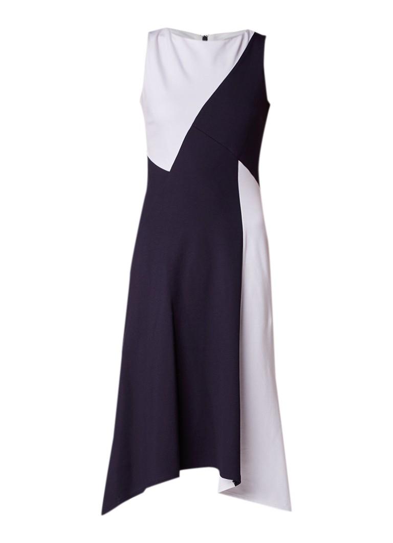 Phase Eight Court mouwloze A-lijn jurk van jersey donkerblauw