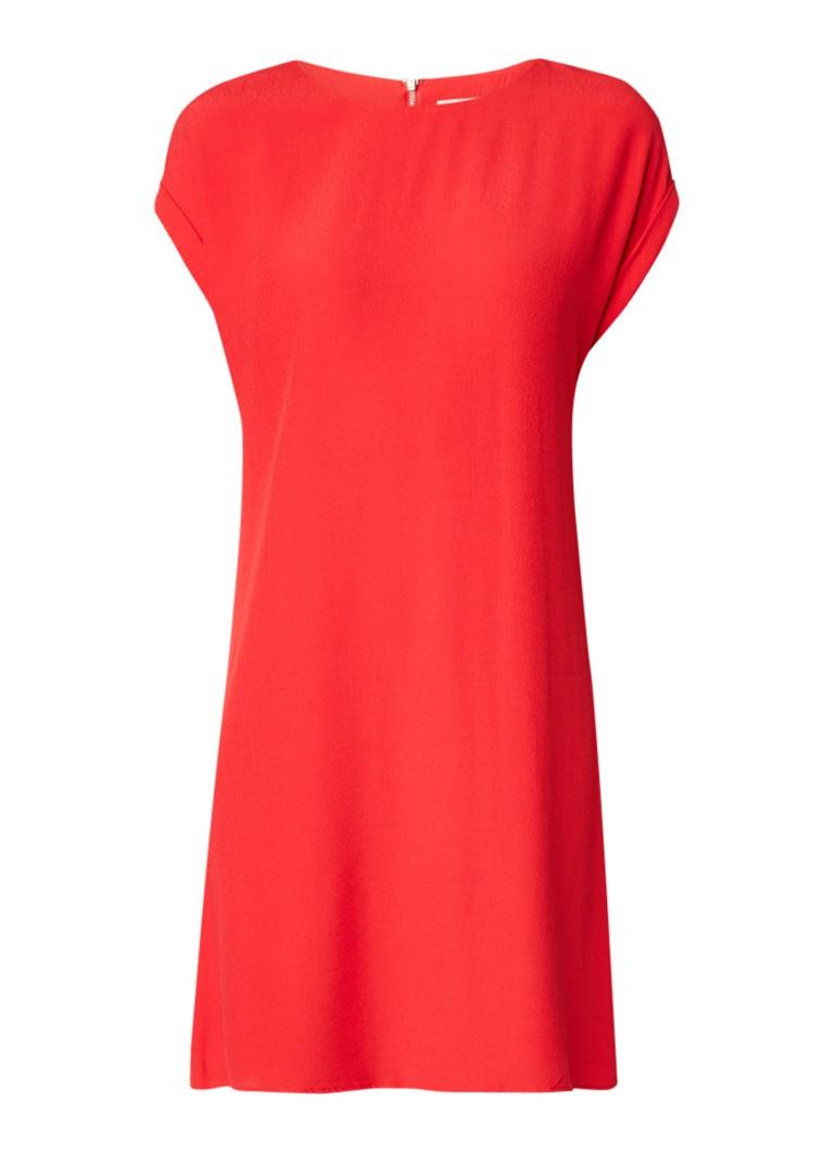 Phase Eight Pia midi-jurk met plissé detail rood