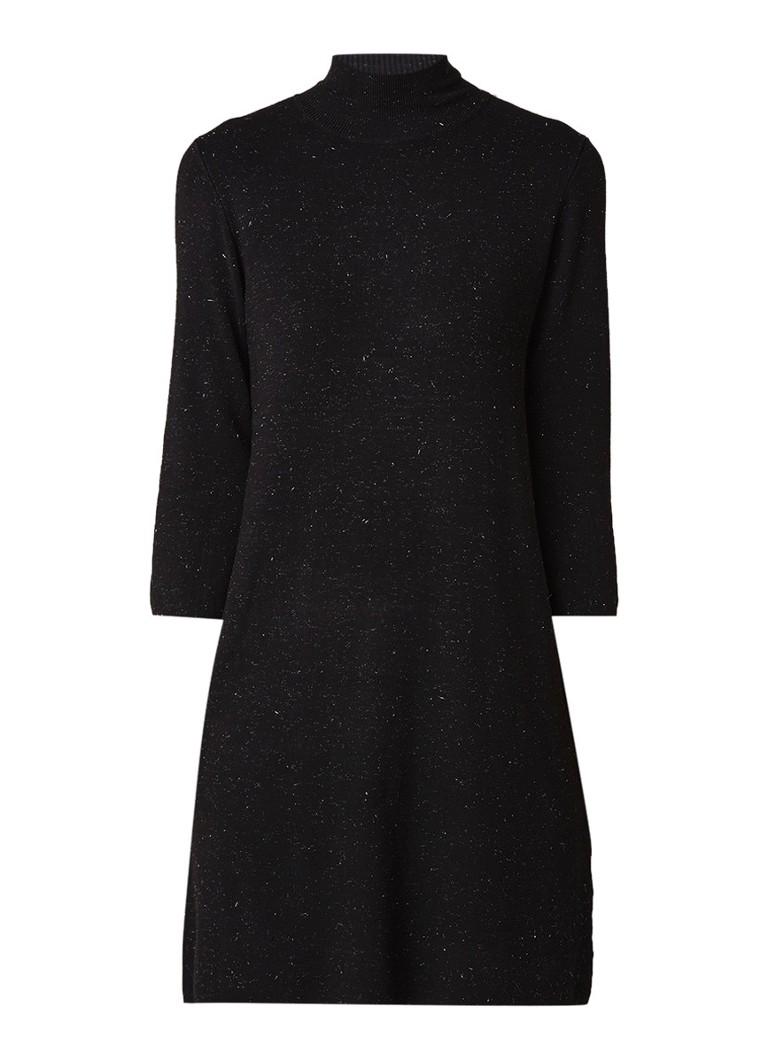 Phase Eight Shayla fijngebreide tuniekjurk met lurex zwart