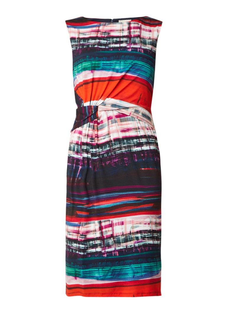 Phase Eight Margo jersey jurk met print multicolor