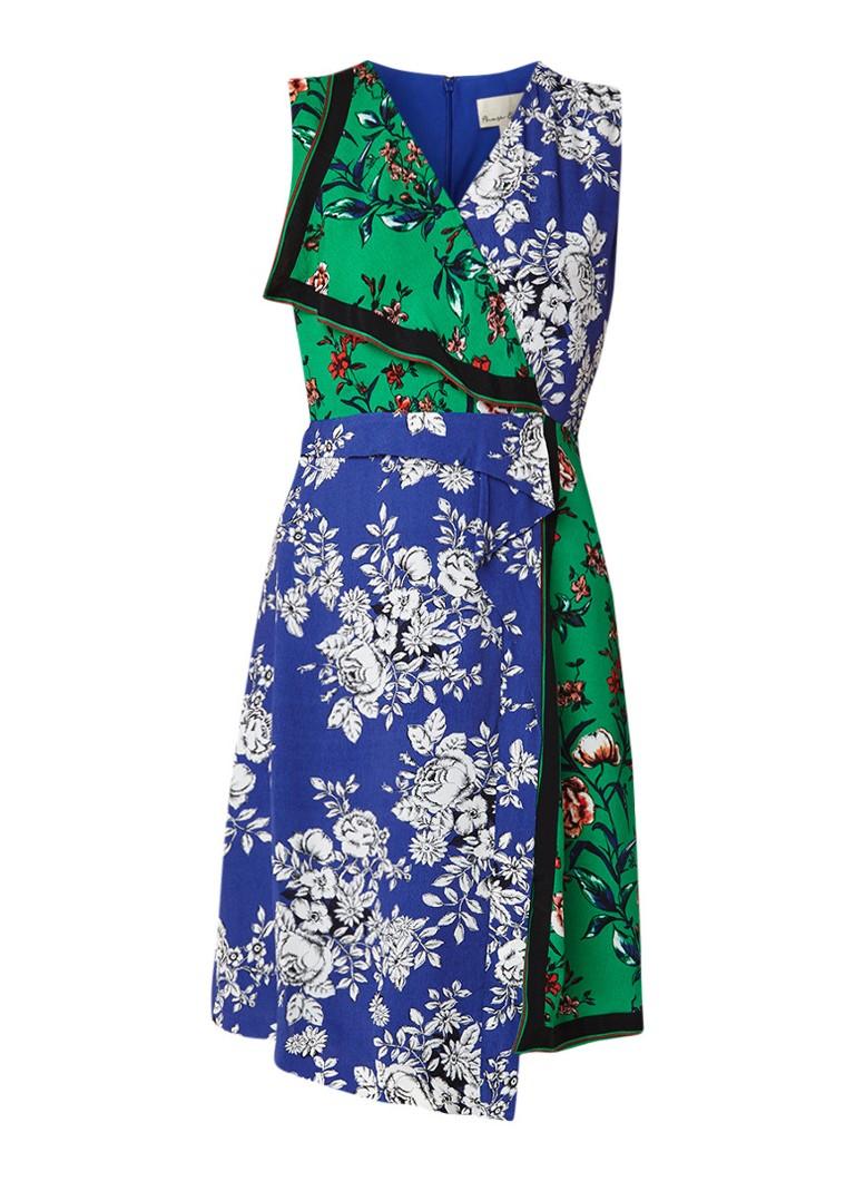 Phase Eight Meghan midi-jurk met contrasterend bloemendessin multicolor