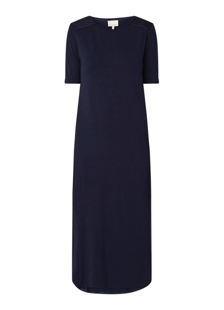 Phase Eight Theresa losvallende T-shirt jurk donkerblauw