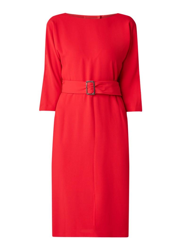 Phase Eight Cristabel jurk met ceintuur en rugdecolleté rood
